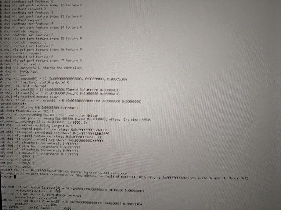 12885 (Invalid PCI bus access by XHCI with USB 3 1 / USB C) – Haiku