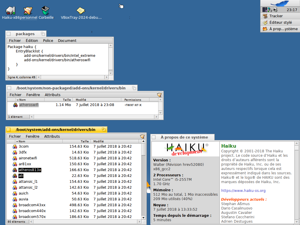 14249 (Upgrade atheroswifi driver to FreeBSD 11 1) – Haiku